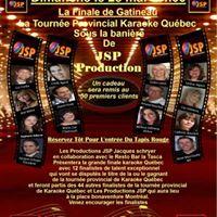 Karaok Gatineau Grande Finale JSP Productions
