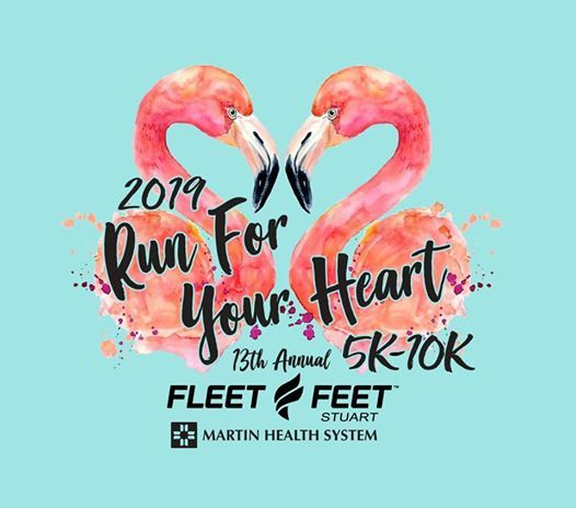 Run for Your Heart 5k-10k at Fleet Feet Stuart2440 NW