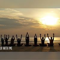 Yoga With Me. Outside Beach Yoga.