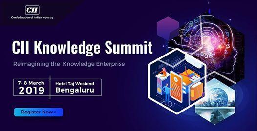 CII Knowledge Summit 2019