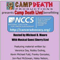 Camp Death Live Benefit - Pocket Sandwich Theatre