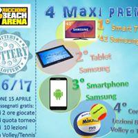 Estrazione biglietti Beach Arena Lottery