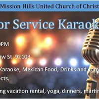 Fools for Service Karaoke Night