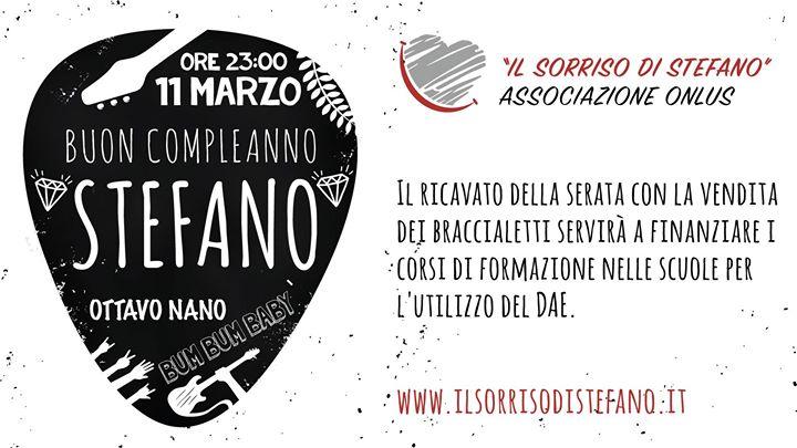 Buon Compleanno Stefano At Ottavo Nano Lucca