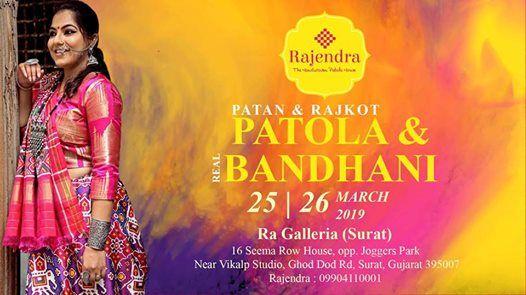Patola & Bandhani Exhibition in Surat by Rajendra