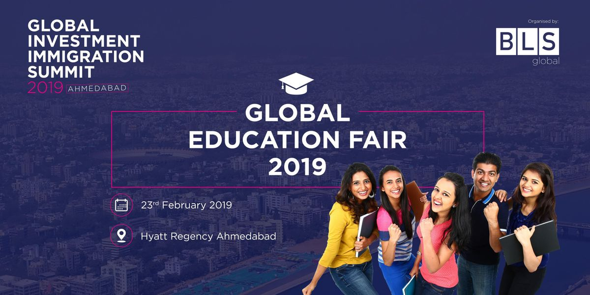 Global Education Fair - Ahmedabad India - Free Entry