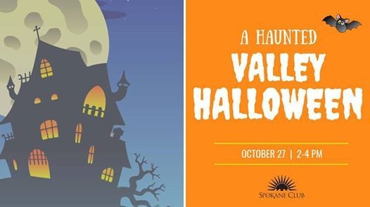 a haunted valley halloween