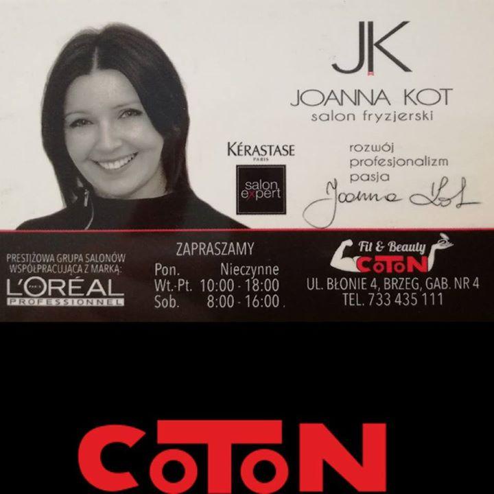 Salon Fryzjerski Joanna Kot 2 At Coton Fitbeauty Brzeg Brzeski