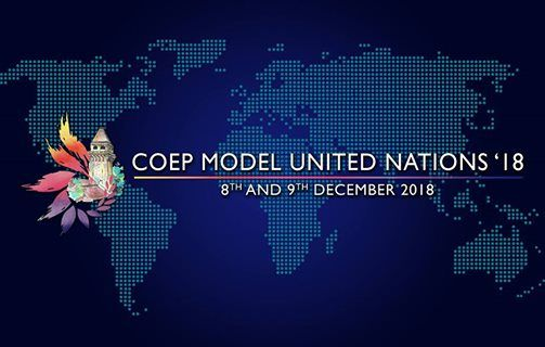COEP Model United Nations 2018