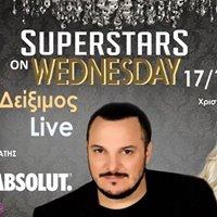 Superstars on Wednesday starting 171 - AKIS Diximos