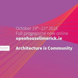 Open House Limerick 2018
