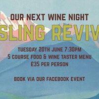 Riesling revival - wine night