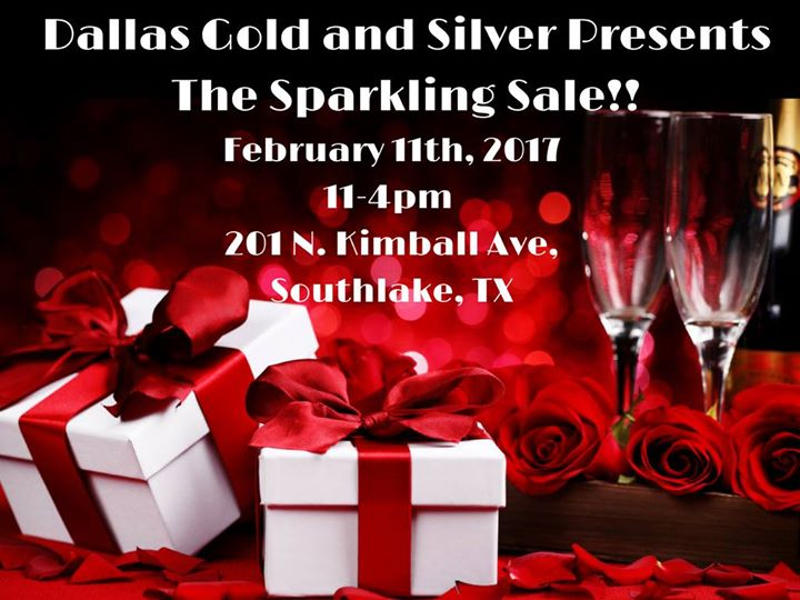 The Sparkling Sale at Dallas Gold and Silver Exchange ...
