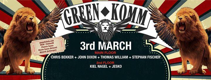 GREEN KOMM - MAIN AFTER HOUR Carnival Festival 2019