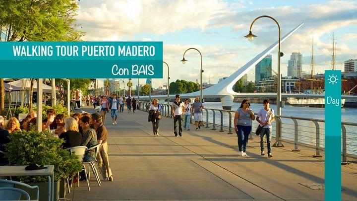 Walking tour Puerto Madero l BAIS Argentina