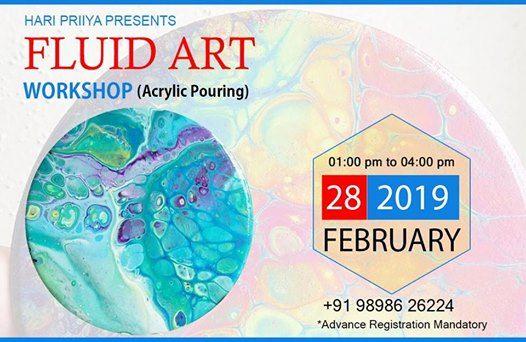 Fluid Art (Acrylic Pouring) Workshop