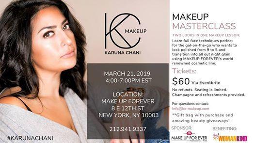 Makeup Masterclass with Karuna Chani