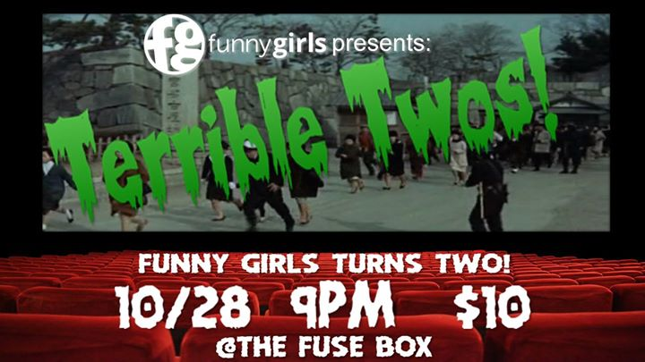 146c41acdeead10a50d4929ccbde365c funny girls presents terrible twos at the fuse box, grand rapids the fuse box grand rapids at highcare.asia