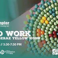 MAG Sampler Bead Work with Deserae Yellow Horn