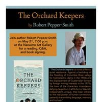 The Orchard Keepers Nanaimo Launch