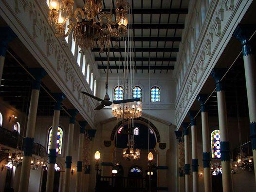 Church walk - the confluence of faiths