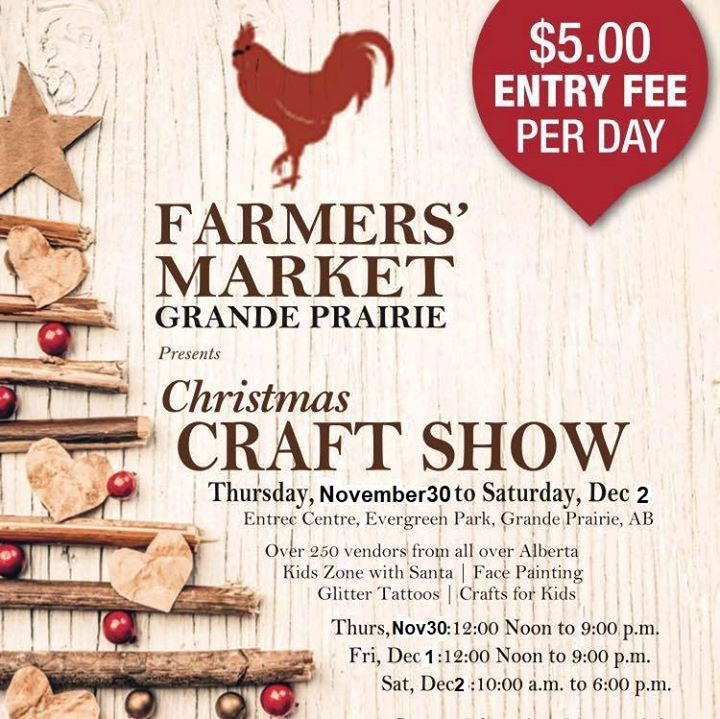 Farmers Market Christmas Craft show
