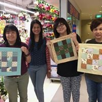 Patchwork Pillow Workshop