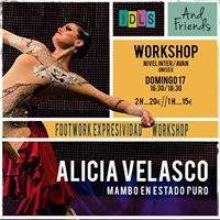 Formacin con Alicia Velasco en Vigo (footwork y flow mambo)
