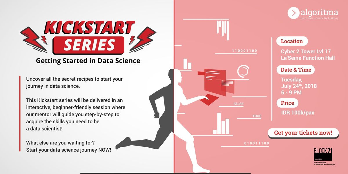 Kickstart Series Getting Started in Data Science
