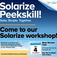 Say Yes to Solar with Solarize Peekskill
