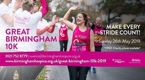 Simplyhealth Great Birmingham 10k