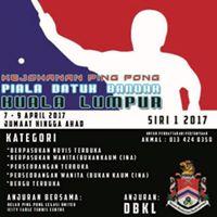 Kejohanan Ping Pong Piala Datuk Bandar Siri 1 2017