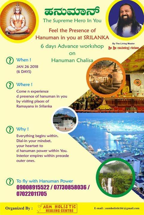Hanuman chalisa 7 days in Srilanka