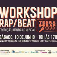 Terra do Rap em Nova Iguau - Workshop Rap &amp Beat