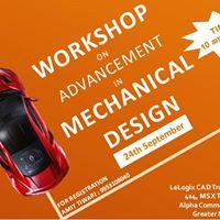 Workshop on Advancement in Mechanical Design