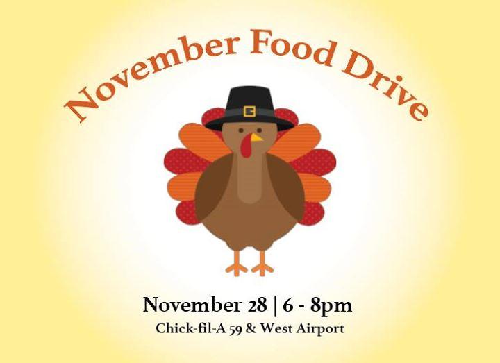 November Food Drive