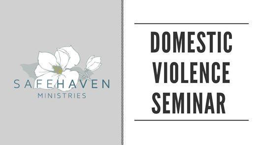 Domestic Violence Seminar (Social Worker CEUs)