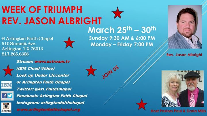 Week of Triumph with Rev. Jason Albright
