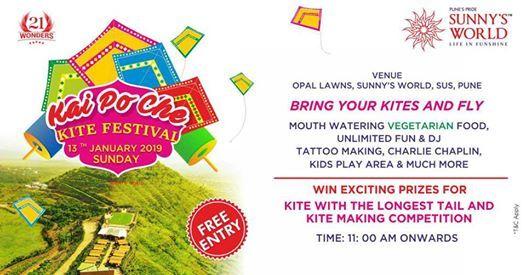 Kai Po Che Kite Festival Sunnys World