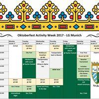 Oktoberfest Activity Week 2017 - LG Munich