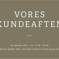 Kundeaften - Bestseller Silkeborg