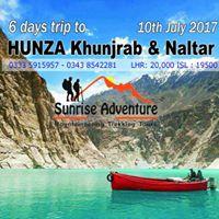 6 days Trip to hunza Khunjrab and Naltar Valley