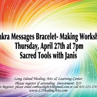 Chakra Messages Bracelet - Making Workshop
