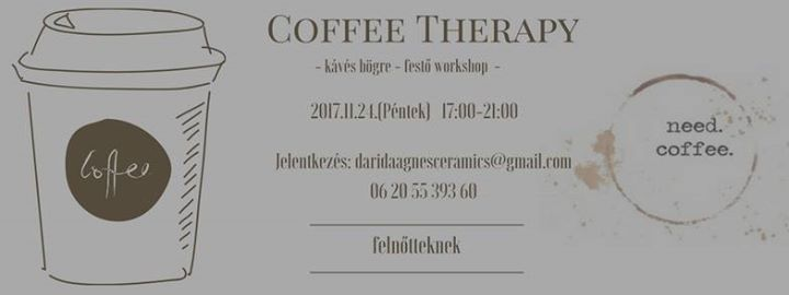 Coffee Therapy - kvs bgre-fest workshop