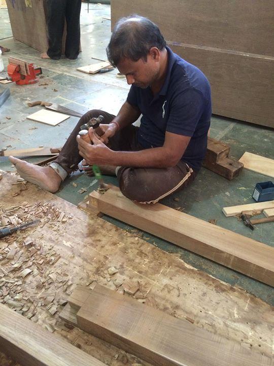 Carpentry Workshop At Esthete Design Studio 99 1st Cross Near