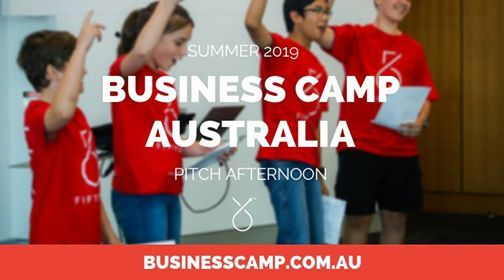 Business Camp in Sydney Pitch Afternoon