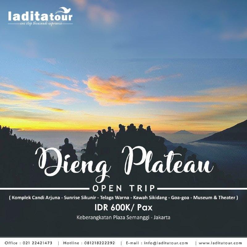 OPEN TRIP Dieng Wonosobo 24 - 26 Agustus 2018 - Ladita Tour Jakarta