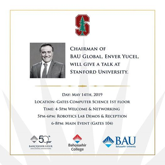 Visit and Talk by Enver Yücel at Stanford Computer Science