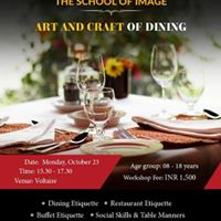 Dining Etiquette Workshop for children