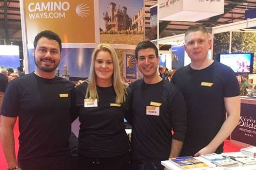CaminoWays at Holiday World Show Belfast